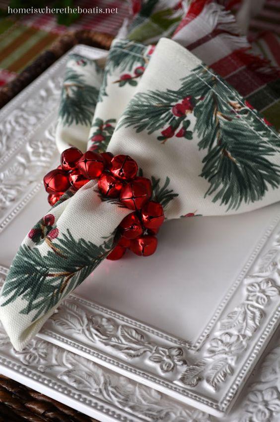 mesa posta para Natal 2017